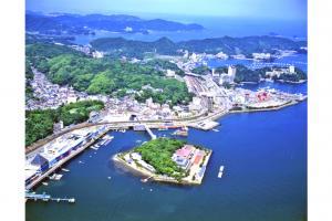 ミキモト真珠島全景